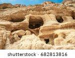 Matala Beach. Caves On The...