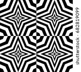 seamless pattern with black... | Shutterstock .eps vector #682819099