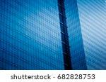detail glass building... | Shutterstock . vector #682828753