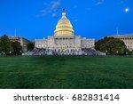 us capitol  washington dc | Shutterstock . vector #682831414