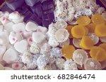 thai homemade dessert  thai...   Shutterstock . vector #682846474