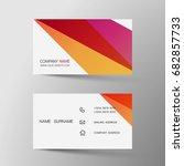 vector modern creative and... | Shutterstock .eps vector #682857733