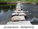 A Stream On Stepping Stones