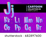 children's comic vector font in ...