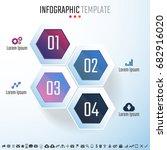 infographics design template...   Shutterstock .eps vector #682916020
