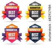 sale banner design template... | Shutterstock .eps vector #682917484
