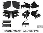 A Set Of Pianos And Pianoforte...