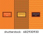 Chocolate Package Set Template...