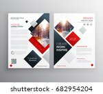 creative business brochure... | Shutterstock .eps vector #682954204