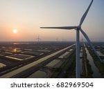 china nantong coastal wind... | Shutterstock . vector #682969504
