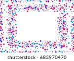 watercolor rainbow colored... | Shutterstock . vector #682970470