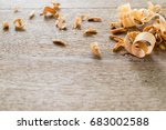 Sawdust And Wood Background