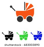 pram vector pictograph....   Shutterstock .eps vector #683003890