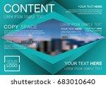 presentation layout design... | Shutterstock .eps vector #683010640