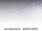 dark purple vector pattern with ... | Shutterstock .eps vector #683013094
