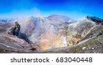 mount etna  sicily    tallest... | Shutterstock . vector #683040448