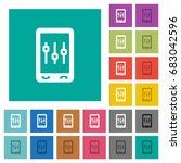 smartphone tweaking multi... | Shutterstock .eps vector #683042596