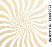 sunburst pattern. sunburst... | Shutterstock .eps vector #683050708