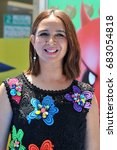 maya rudolph at the los angeles ... | Shutterstock . vector #683054818