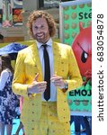 t.j. miller at the los angeles... | Shutterstock . vector #683054878