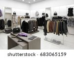 luxury and fashionable brand... | Shutterstock . vector #683065159