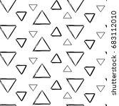 seamless geometric ornament...   Shutterstock .eps vector #683112010