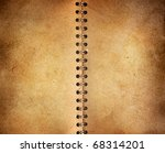 vintage notebook background | Shutterstock . vector #68314201