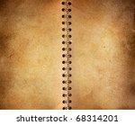 vintage notebook background   Shutterstock . vector #68314201
