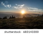 Evening Mountain Meadow With...