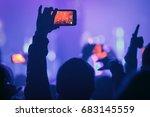 moscow 18december 2016 music... | Shutterstock . vector #683145559