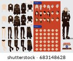 vector constructor with... | Shutterstock .eps vector #683148628