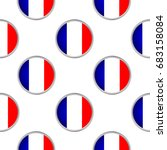 seamless pattern from the flags ... | Shutterstock .eps vector #683158084
