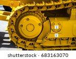 Bulldozer Tracks And Drive Gea...