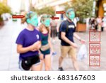 machine learning systems  ... | Shutterstock . vector #683167603