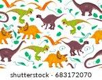 abstract seamless pattern... | Shutterstock .eps vector #683172070