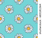 chamomile  camomile flower... | Shutterstock . vector #683181364