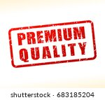 illustration of premium quality ... | Shutterstock .eps vector #683185204
