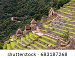 agricultural stone terraces at  ... | Shutterstock . vector #683187268