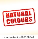 illustration of natural colours ... | Shutterstock .eps vector #683188864