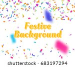 vector festive background. | Shutterstock .eps vector #683197294