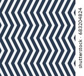 pattern in zig zag. classic...   Shutterstock .eps vector #683204824
