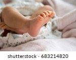 baby's foot | Shutterstock . vector #683214820