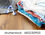 oktoberfest cloth like filth... | Shutterstock . vector #683230903