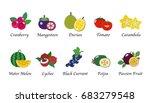 organic nature health fruit... | Shutterstock .eps vector #683279548