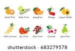 organic nature health fruit... | Shutterstock .eps vector #683279578