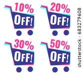 sale  10   20   30   50  off.... | Shutterstock .eps vector #683279608