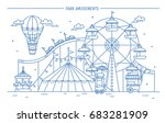 nice horizontal banner of... | Shutterstock .eps vector #683281909