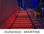 dallas arts district july 14 ... | Shutterstock . vector #683287468