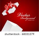 gift present open vector... | Shutterstock .eps vector #68331379
