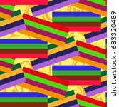 endless abstract pattern.... | Shutterstock .eps vector #683320489